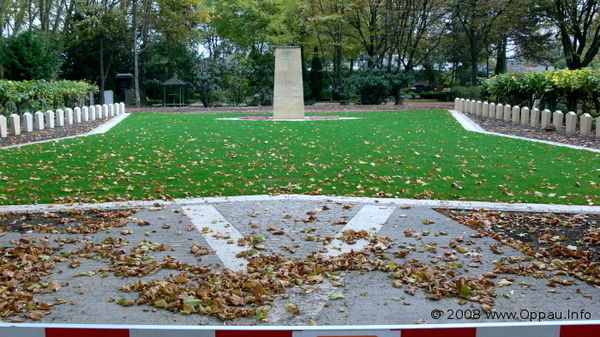 Ehrenfriedhof Oppau heute