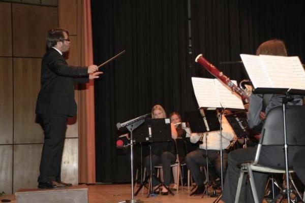 Dirigent Dominik Civilotti.