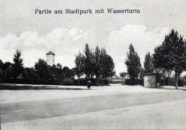 Oppauer Park - Eingang Rhein-Str