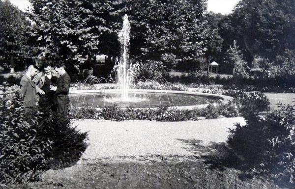 Oppauer Park Springbrunnen