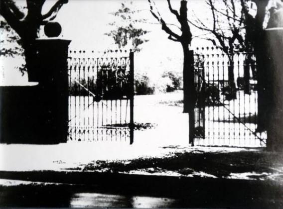 Oppauer Park Eingangstor ursprünglich 3-flügelig