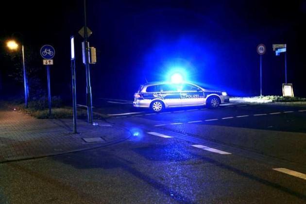 Zufahrt K1 gesperrt - Niemand darf Richtung Edigheim durchfahren