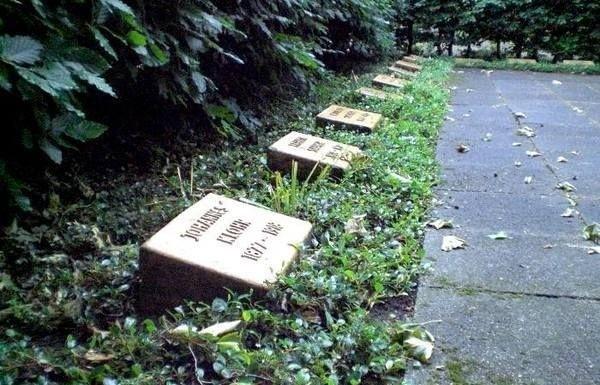 Explosionsgräber auf dem Oppauer Friedhof
