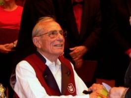Bayer Hans an seinem 84. Geburtstag