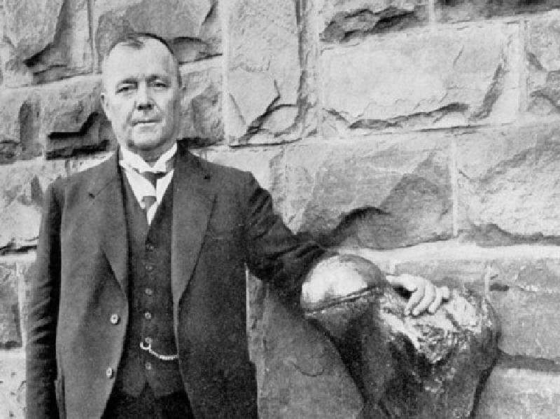 Karl-Otto Braun erforschte die Ortsgeschichte und gründete das städtische Heimatmuseum