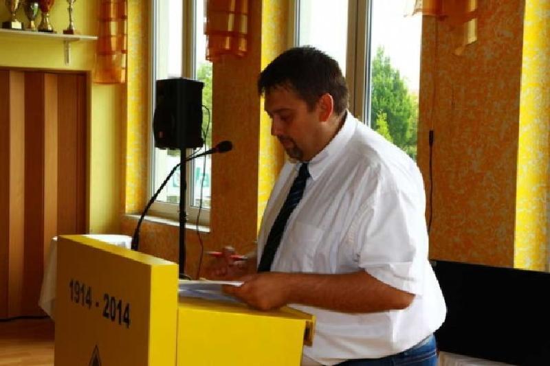 1. Vorsitzender Christian Hettinger