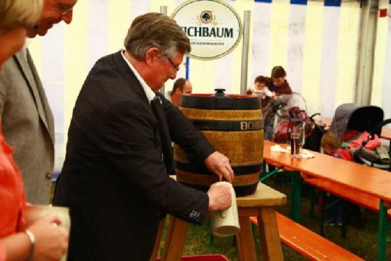 Udo Scheuermann, Faßbieranstich