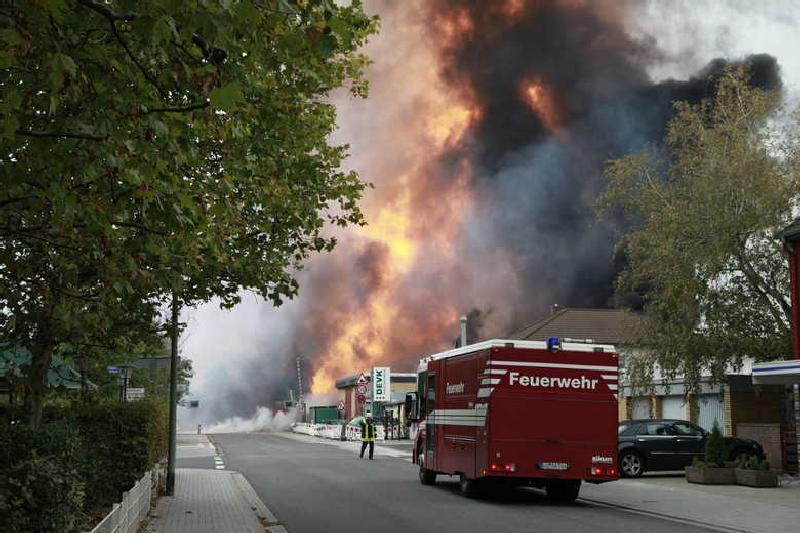 Gasexplosion 23.10.2014