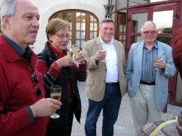 Oppauer Abordnung in Breuil le Sec