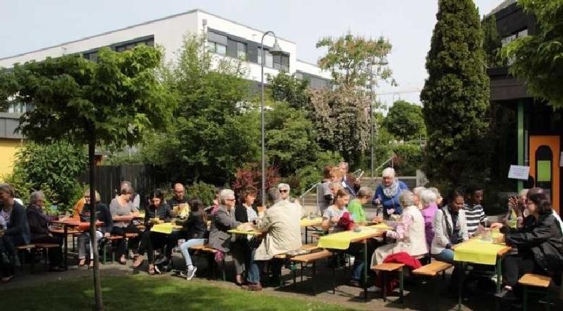 Gut besucht - Das Gemeindefest in der Pfingstweide