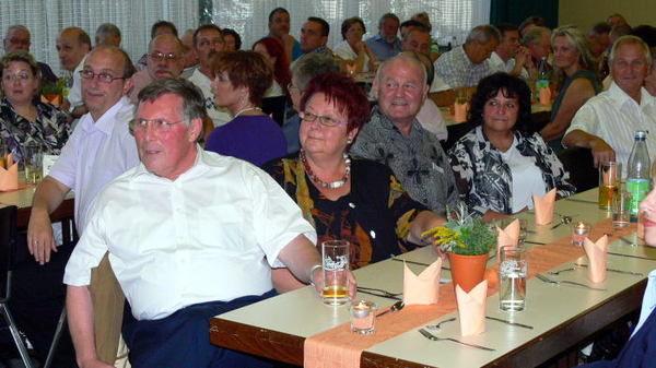 Inoffizielle Kerweeröffnung, ARGE Oppau 14.8.2009. Gäste.