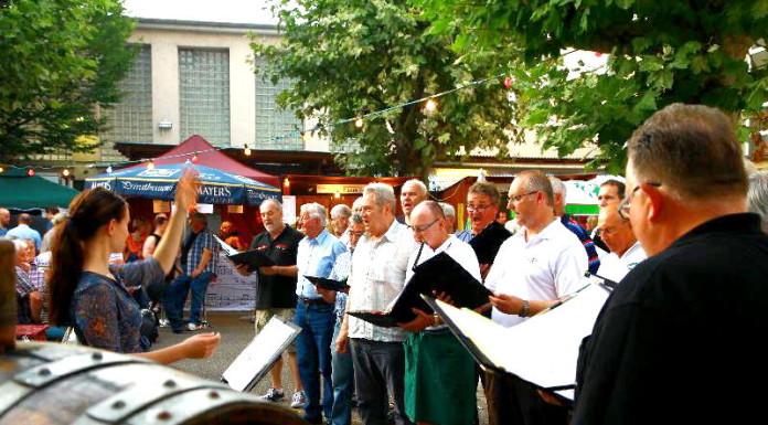 Liederkranz Oppau und Chorgemeinschaft Friesenheim Leitung Teresa Wojeik