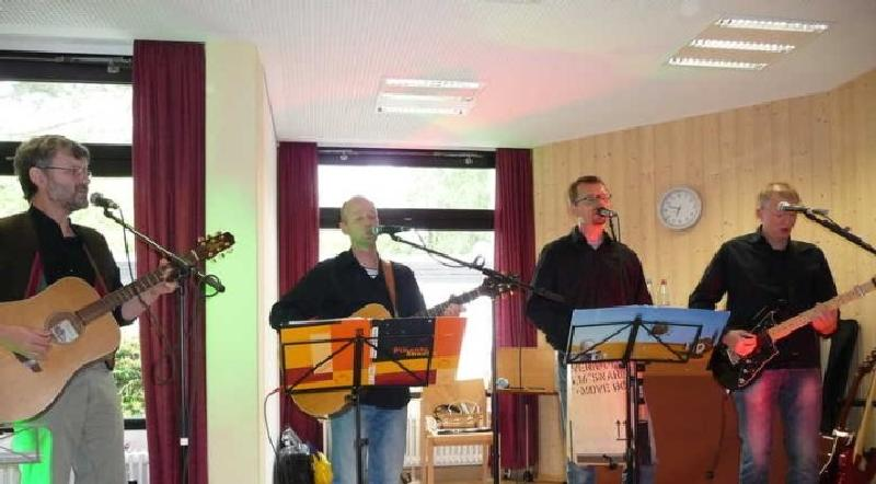 Konzert mit der Band 4pleasure