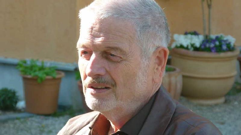 Der gewählte Vorsitzende des Fördervereines Bürgerhaus Oppau Hubert Eisenhauer
