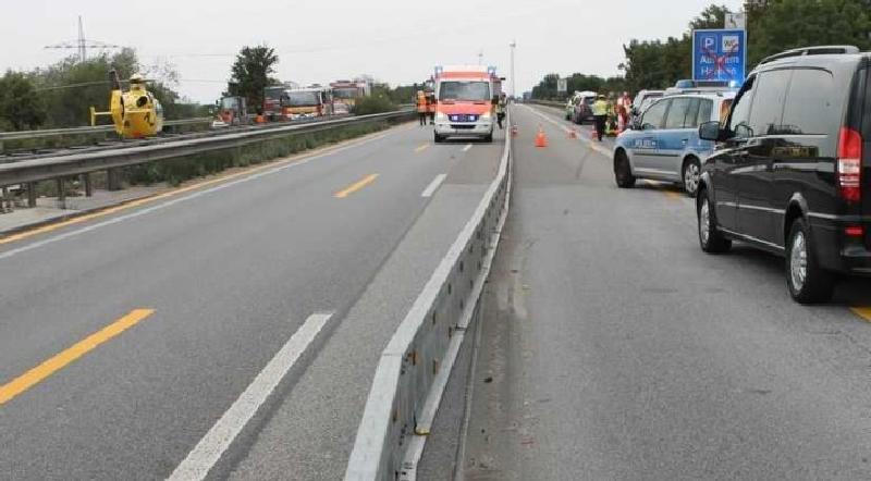 Tödlicher Unfall auf A61
