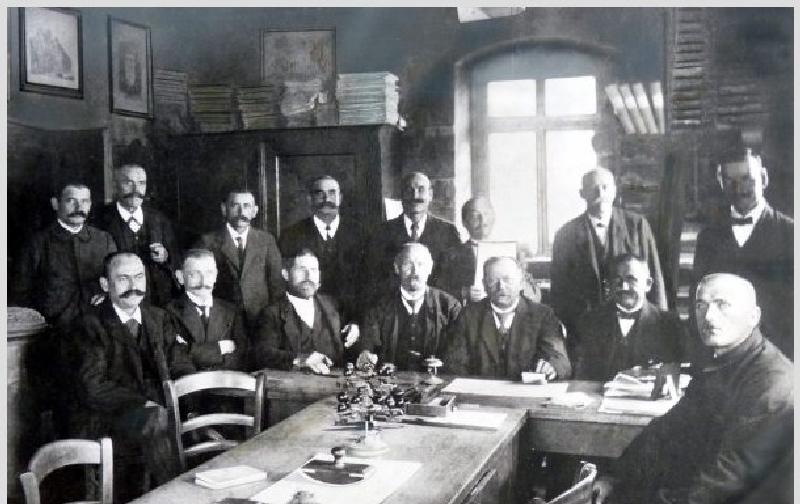 Oppau Gemeinderat 1914-1918.