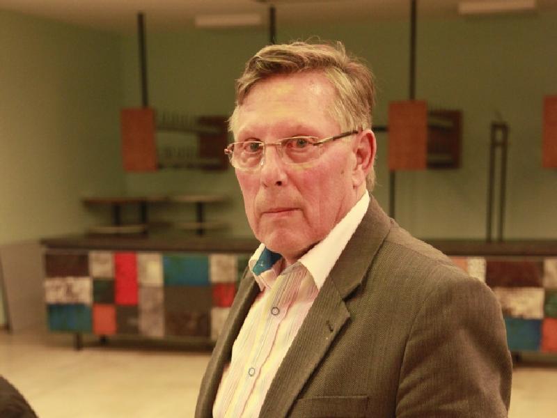 Udo Scheuermann, Ortsvorteher. Hier : im Einsatz bei der Unterbringung der Obdachlosen der Gasexplosion vom 23.10.2014 in Edigheim