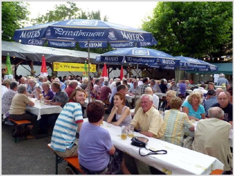 Grillfest beim TTC Oppau, 1.8.2015