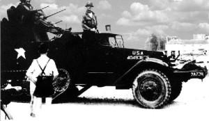 21.03.1945 Die 10. amerikanische Panzerdivision besetzt Ludwigshafen.