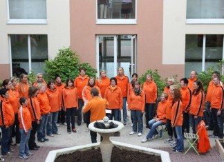 Junger Chor Take Four in Breuil le Sec
