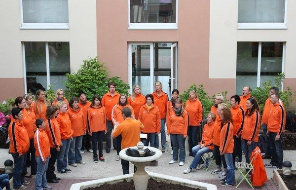Junger Chor Take Four in Breuil le Sec