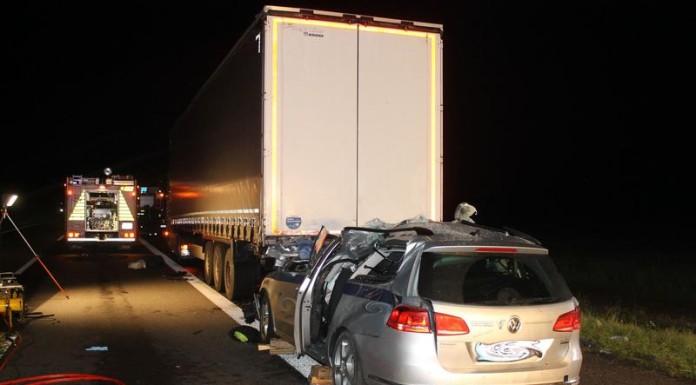 Verkehrsunfall A 61