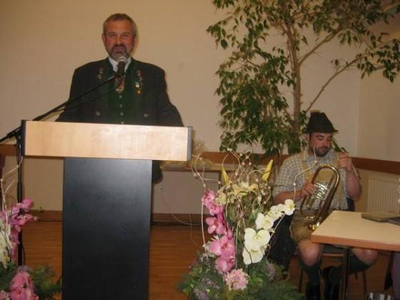 Begrüßung durch BGM Franz Frosch