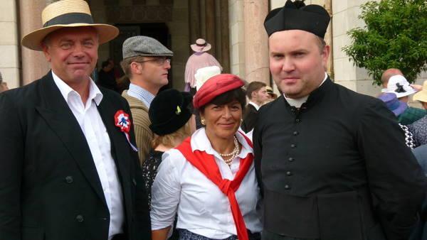 Der Bürgermeister und der Pfarrer von 1914
