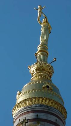 Die Kuppel mit der Jungfrau Maria