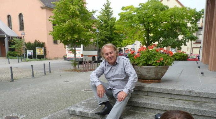Oppau 25.8.2011 Frieder Bernius besucht Oppau.