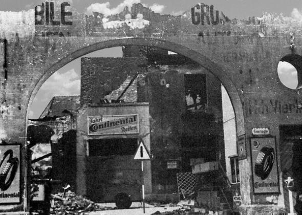 Oppau 1941. Garage Heinrich Vierling, Edigheimer-Str. 20