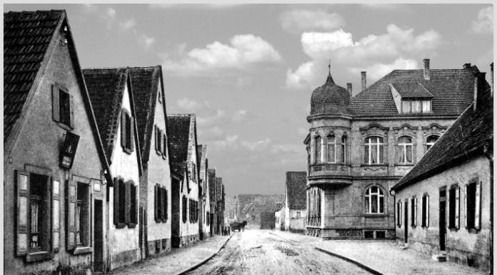 links: Erste Postagentur in Oppau