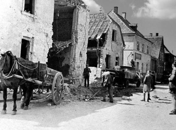 Oppau 1941. Friedrich-Str.
