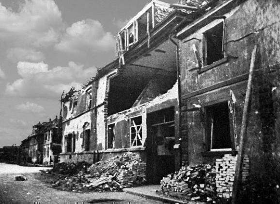 Oppau 1944 Gartenstr. (Fritz-Haber-Str.)