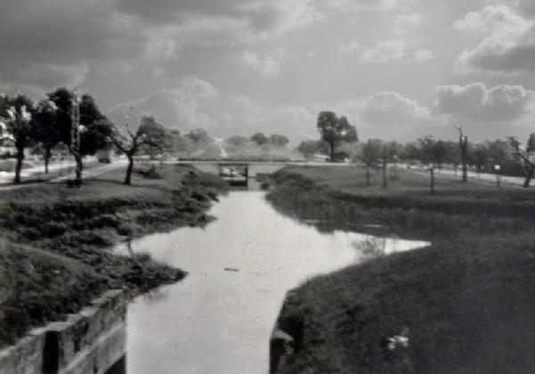 Ausweichstelle am Kanal