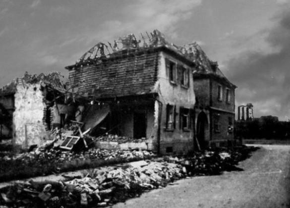 Oppau 1944 Garten-Str. (Fritz-Haber-Str.)
