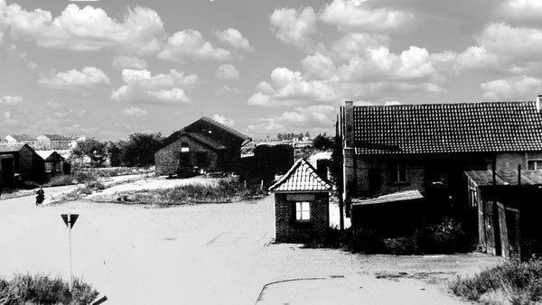 GB: Oppau 1948. Der alte Oppauer Güterbahnhof auf dem Gelände des Lidl-Markt