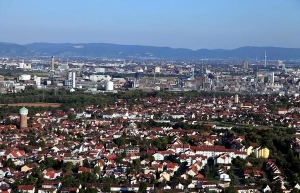 Edigheim, Oppau und BASF