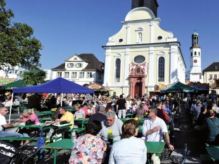 Marktplatz Frankenthal (Symbolbild)
