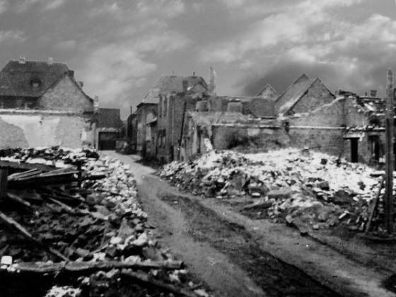 Oppau 1943 Hinkel-Gasse