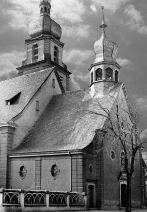 KI: Oppau 1923 katholische Kirche. (1923 - 1943).