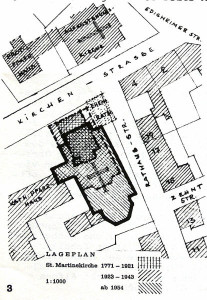 Geschichte der St. Martinskirche von 1771 bis 1954