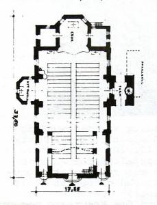 2. Kirche 1923-1943 (Bauzeit 1921-1923)