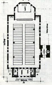 1949 Plan für den Wiederaufbau