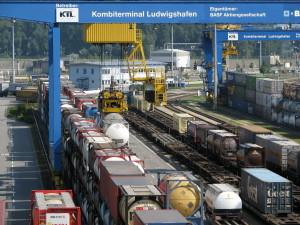 Kombiverkehrsterminal Ludwigshafen