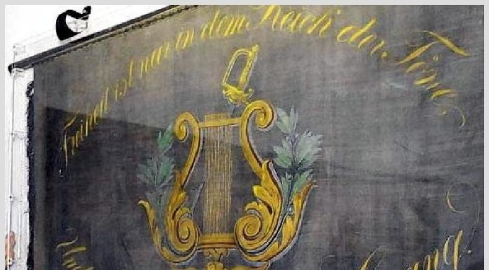 Liederkranz Oppau alte Fahne