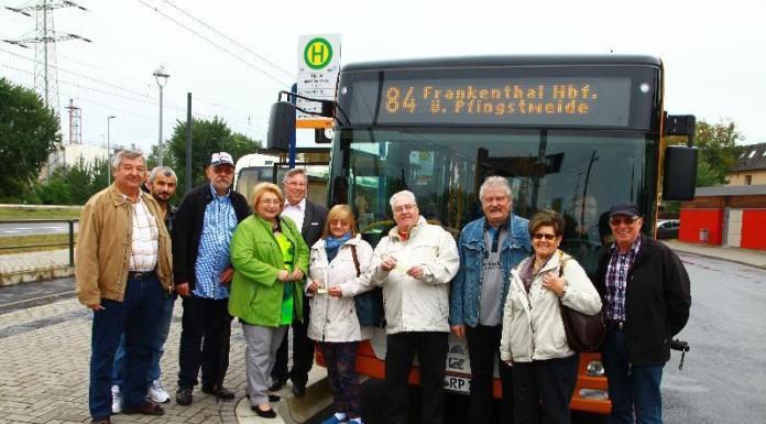 SPD Ortsgruppen Oppau, Edigheim und Pfingstweide machen eine Probefahrt