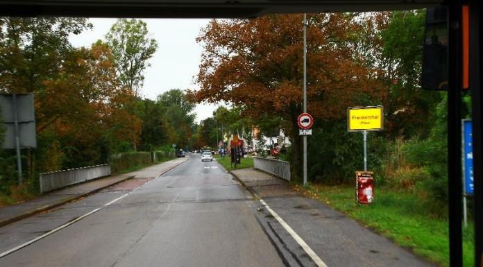 Am Kanal, Stadtgrenze Frankenthal