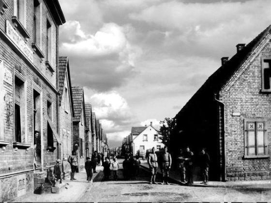 LO: Oppau 1920 Jägerlust. Karolinen-Strasse