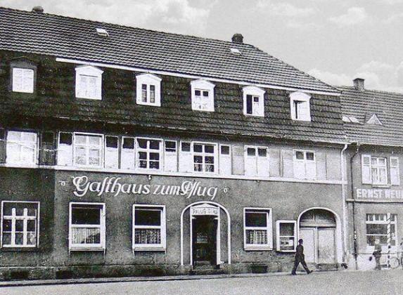 LO: Oppau um 1938. Gasthaus Zum Pflug